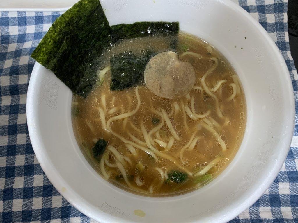 新横浜家系とんこつ醤油ラーメン チャーシュー 画像