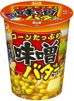東洋水産株式会社 コーンたっぷり味噌バターラーメン 商品画像